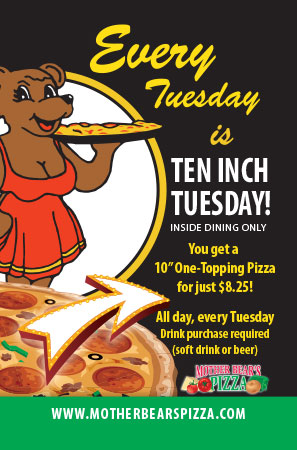10 Inch Tuesday